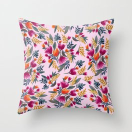 Bloomin' beauty Throw Pillow