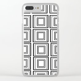 The Minimalist: Squared Clear iPhone Case