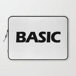BASIC in Black Laptop Sleeve