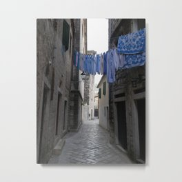 Fresh laundry Metal Print