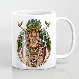 Ayahuasca DMT Shaman Trippy Coffee Mug