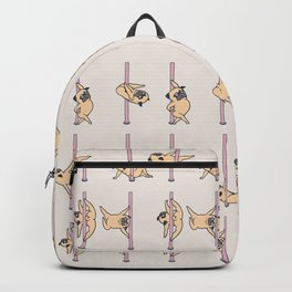 Pugs Pole Dancing Club Backpack