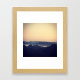Brouillard Framed Art Print