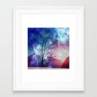 twilight Framed Art Prints featuring Twilight by haroulita