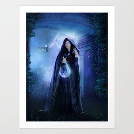 Arcane Symbols Art Print