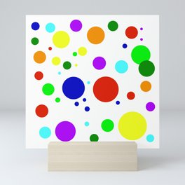 Rounded Buttons Mini Art Print