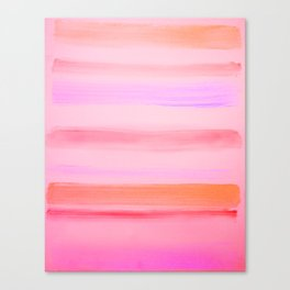 Sunset Stripes Canvas Print