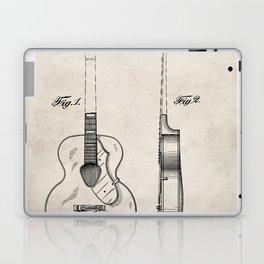 Accoustic Guitar Patent - Classical Guitar Art - Antique Laptop & iPad Skin