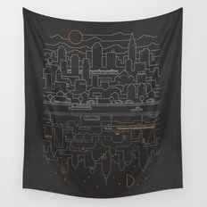 City 24 Wall Tapestry