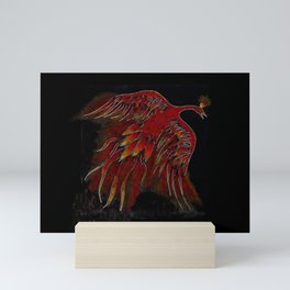 Creature of Fire (The Firebird) Mini Art Print