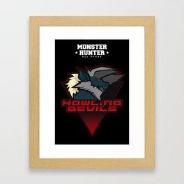Monster Hunter All Stars - Howling Devils Framed Art Print