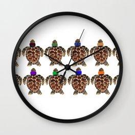 Turtlenecks Wall Clock