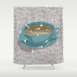 Teatime Shower Curtain