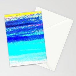 glitch nova oscar Stationery Cards