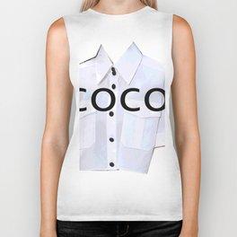 coco fashion week look Biker Tank