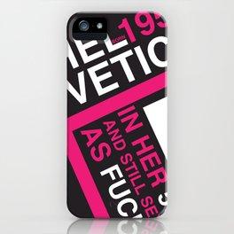 Helvetica: Born 1957 iPhone Case