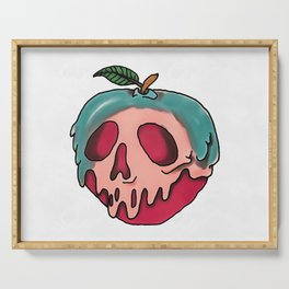 Poison Apple Serving Tray