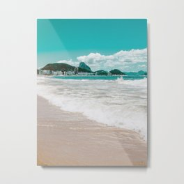 Sugar Loaf from Copacabana Metal Print