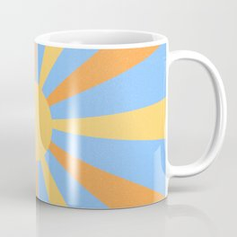 yellow and orange sunshine Coffee Mug