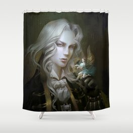 Alucard. Castlevania Symphony of the Night Shower Curtain