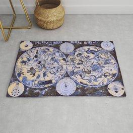 1600 Celestial Chart Rug