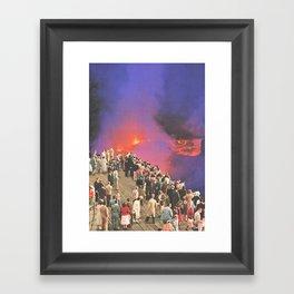 Ramptoerisme Framed Art Print