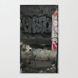 Demolished Providence Canvas Print