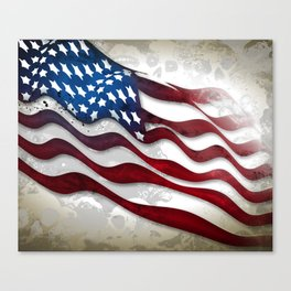 Old Glory...long may she wave Canvas Print