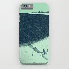 'Beach' (Colour) iPhone 6s Slim Case