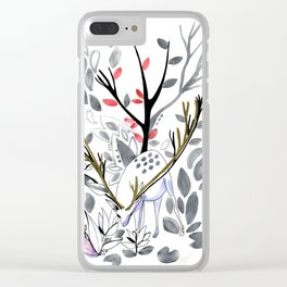 Dee of the winter Clear iPhone Case