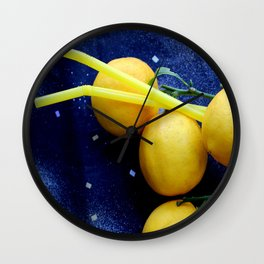 The Lemon's Aid Wall Clock