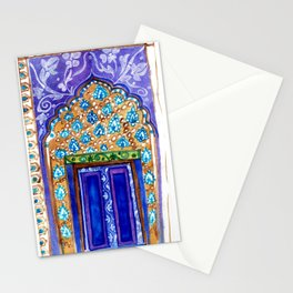 A door to Marrakech Stationery Cards
