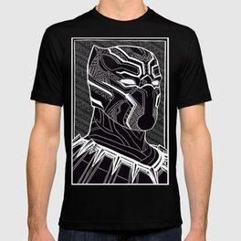 The Prince of Wakanda - Panther Pattern T-shirt