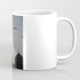 the flight home Coffee Mug