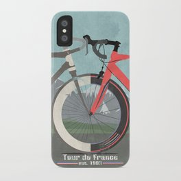 Tour De France Bicycle iPhone Case