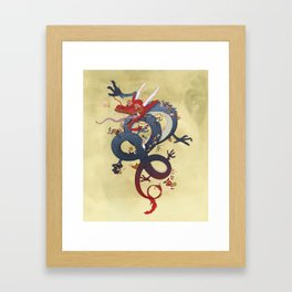 Year of the Dragon Framed Art Print