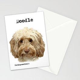 Golden Doodle Dog  Stationery Cards
