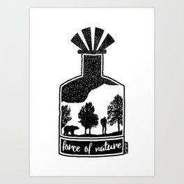 Force of Nature Art Print