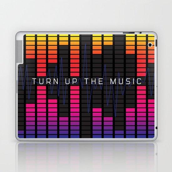 Turn up the music Laptop & iPad Skin