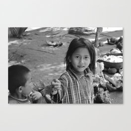 Children of Bali #3 Canvas Print