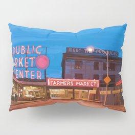 Pike Place Market Pillow Sham