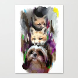 a fresh start Canvas Print