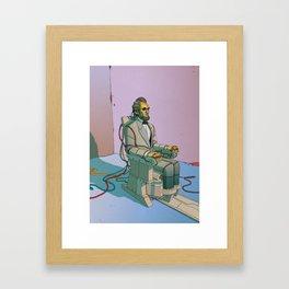 Californium | Lincoln Framed Art Print