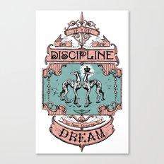 Discipline in Color Canvas Print