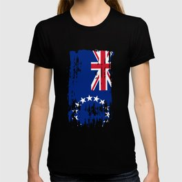 CK COK Cook Islands Flag T-shirt