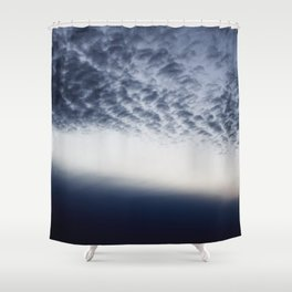 Drama above the Fjord Shower Curtain