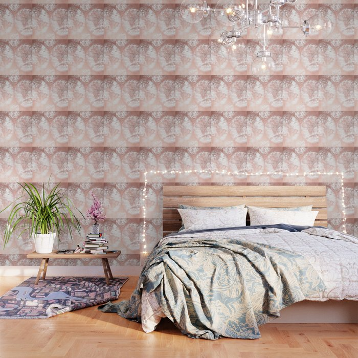 Rose gold pink antique world map by nature magick wallpaper by rose gold pink antique world map by nature magick wallpaper gumiabroncs Choice Image