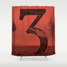 Three Shower Curtain
