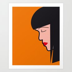 Pop Icon - Mia Art Print
