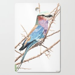 Lilac breasted roller Cutting Board